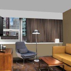 Отель DoubleTree by Hilton Metropolitan - New York City США, Нью-Йорк - 9 отзывов об отеле, цены и фото номеров - забронировать отель DoubleTree by Hilton Metropolitan - New York City онлайн комната для гостей фото 5