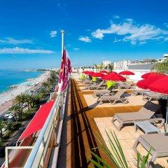 Отель Aparthotel Adagio Nice Promenade des Anglais бассейн фото 3