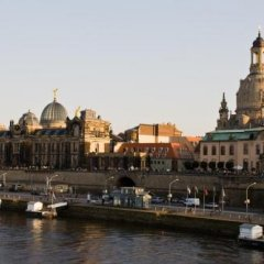 Отель Indigo Dresden - Wettiner Platz Германия, Дрезден - отзывы, цены и фото номеров - забронировать отель Indigo Dresden - Wettiner Platz онлайн приотельная территория фото 2