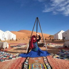 Отель Dunes Luxury Camp Erg Chebbi Марокко, Мерзуга - отзывы, цены и фото номеров - забронировать отель Dunes Luxury Camp Erg Chebbi онлайн спортивное сооружение