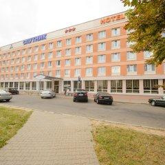 Гостиница Спутник парковка