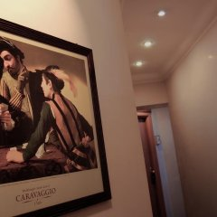 Отель Caravaggio Италия, Рим - 9 отзывов об отеле, цены и фото номеров - забронировать отель Caravaggio онлайн интерьер отеля