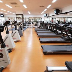 Марриотт Гранд Отель фитнесс-зал фото 2