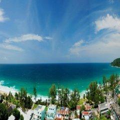 Отель Waterfront Suites Phuket by Centara пляж