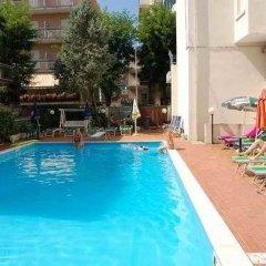 Отель Costa D'oro Римини бассейн фото 3
