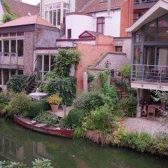 Отель B&B Canal Deluxe Бельгия, Брюгге - отзывы, цены и фото номеров - забронировать отель B&B Canal Deluxe онлайн приотельная территория