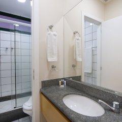 Отель Bourbon Vitoria Hotel (Residence) Бразилия, Витория - отзывы, цены и фото номеров - забронировать отель Bourbon Vitoria Hotel (Residence) онлайн ванная