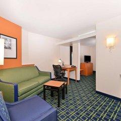 Отель Fairfield Inn And Suites By Marriott Columbus West Колумбус комната для гостей фото 5