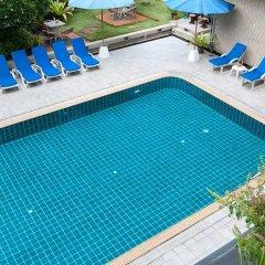 Отель Summit Pavilion Бангкок бассейн фото 3