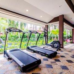Отель Serene Boutique Garden Resorts фитнесс-зал фото 4