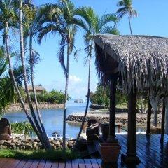 Отель Polynesian Dream Lodge Французская Полинезия, Муреа - отзывы, цены и фото номеров - забронировать отель Polynesian Dream Lodge онлайн приотельная территория