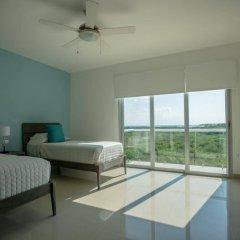 Отель Mareazul Family Beach Condohotel Плая-дель-Кармен комната для гостей фото 5