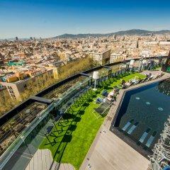 Отель Barcelo Raval Барселона бассейн фото 2