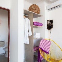 Отель Dewl Studios & Residences - The Kahlo Мексика, Плая-дель-Кармен - отзывы, цены и фото номеров - забронировать отель Dewl Studios & Residences - The Kahlo онлайн комната для гостей