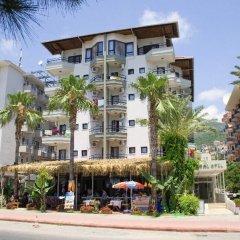 Kleopatra Ada Beach Hotel пляж