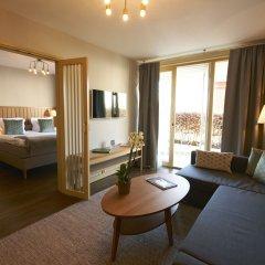 Отель Villa Kallhagen Стокгольм комната для гостей