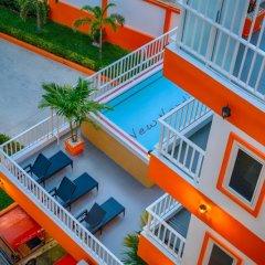 Апартаменты Sunset Apartments Паттайя бассейн фото 2