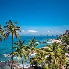Отель Playa Conchas Chinas Пуэрто-Вальярта пляж фото 2