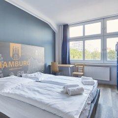 A&o Hotel Hamburg Hauptbahnhof Гамбург комната для гостей
