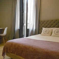 Апартаменты Midtown Luxury Apartments Барселона комната для гостей