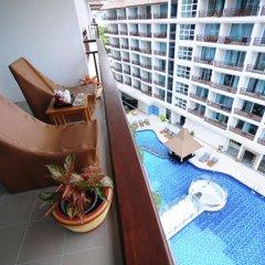 Crystal Palace Hotel балкон