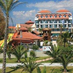 Seher Resort & Spa Турция, Сиде - отзывы, цены и фото номеров - забронировать отель Seher Resort & Spa - All Inclusive онлайн пляж фото 2
