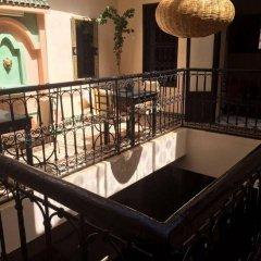 Отель Riad Sarah et Sabrina Марокко, Марракеш - отзывы, цены и фото номеров - забронировать отель Riad Sarah et Sabrina онлайн балкон