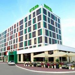 Гостиница Skyport в Оби - забронировать гостиницу Skyport, цены и фото номеров Обь вид на фасад фото 2