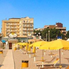 Hotel Continental Rimini Римини пляж
