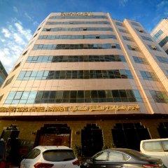 Отель Emirates Stars Hotel Apartment Sharjah ОАЭ, Шарджа - отзывы, цены и фото номеров - забронировать отель Emirates Stars Hotel Apartment Sharjah онлайн вид на фасад
