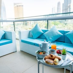 Отель Bravoway Burj Vista 1 in Downtown Dubai балкон