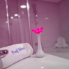 Отель Fredj Hotel and Spa Марокко, Танжер - отзывы, цены и фото номеров - забронировать отель Fredj Hotel and Spa онлайн ванная фото 2