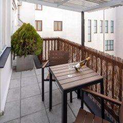 Апартаменты New Town Apple Apartments Прага балкон