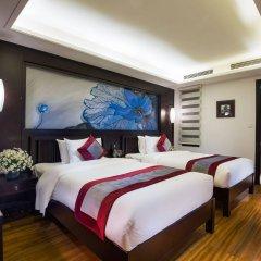 Отель Golden Lotus Hotel Вьетнам, Ханой - отзывы, цены и фото номеров - забронировать отель Golden Lotus Hotel онлайн комната для гостей фото 4