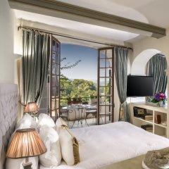 Отель Chateau Le Cagnard Кань-сюр-Мер комната для гостей
