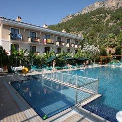Отель Perdikia Hill бассейн фото 2