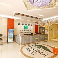 Отель Junyi Hotel Китай, Сиань - отзывы, цены и фото номеров - забронировать отель Junyi Hotel онлайн интерьер отеля фото 3