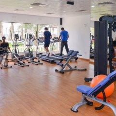 Отель Ajman Beach Аджман фитнесс-зал