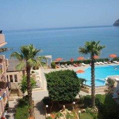 Hotel Haris пляж фото 2