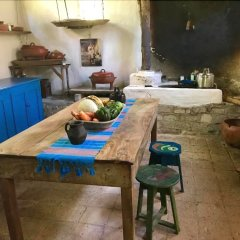 Hotel Hacienda San Lucas Копан-Руинас питание фото 2