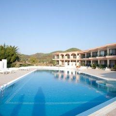 Toroni Blue Sea Hotel бассейн фото 3