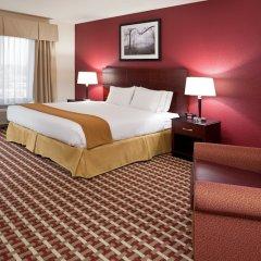 Отель Holiday Inn Express Hotel & Suites Columbus Univ Area - Osu США, Колумбус - отзывы, цены и фото номеров - забронировать отель Holiday Inn Express Hotel & Suites Columbus Univ Area - Osu онлайн комната для гостей фото 4