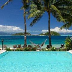 Отель Royal Bora Bora Французская Полинезия, Бора-Бора - отзывы, цены и фото номеров - забронировать отель Royal Bora Bora онлайн бассейн