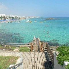 Отель Villa Centrum Кипр, Протарас - отзывы, цены и фото номеров - забронировать отель Villa Centrum онлайн пляж фото 2