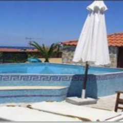 Отель Flesvos Греция, Пефкохори - отзывы, цены и фото номеров - забронировать отель Flesvos онлайн бассейн фото 2