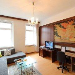 Отель CheckVienna Edelhof Apartments Австрия, Вена - 1 отзыв об отеле, цены и фото номеров - забронировать отель CheckVienna Edelhof Apartments онлайн комната для гостей фото 3