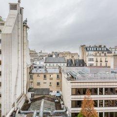 Отель WS Champs Elysees - Ponthieu Франция, Париж - отзывы, цены и фото номеров - забронировать отель WS Champs Elysees - Ponthieu онлайн балкон
