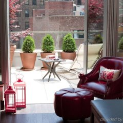 Отель Kimpton Hotel Eventi, an IHG Hotel США, Нью-Йорк - отзывы, цены и фото номеров - забронировать отель Kimpton Hotel Eventi, an IHG Hotel онлайн балкон