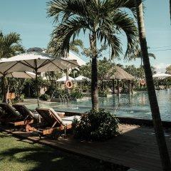 Отель Silk Sense Hoi An River Resort бассейн