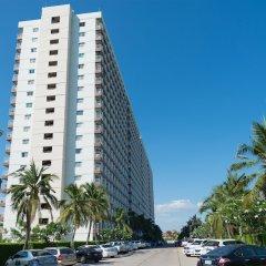 Отель Jomtien Beach Condominium Паттайя парковка